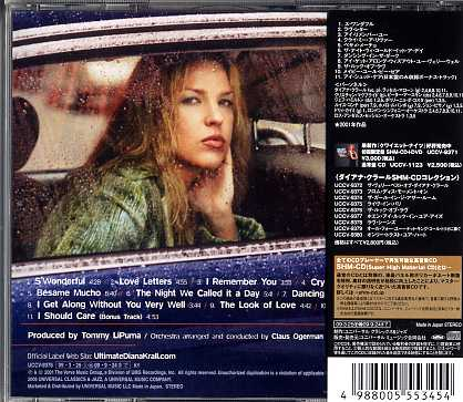 The Look Of Love Xrcd24 By Diana Krall CD With