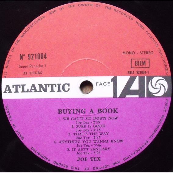 Joe Tex Buying A Book / Chicken Crazy