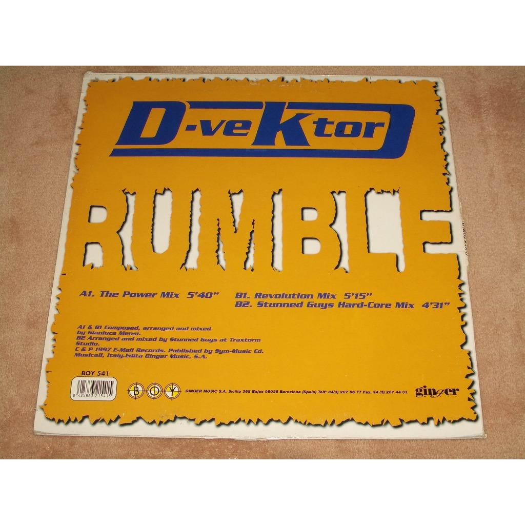 D-VEKTOR rumble