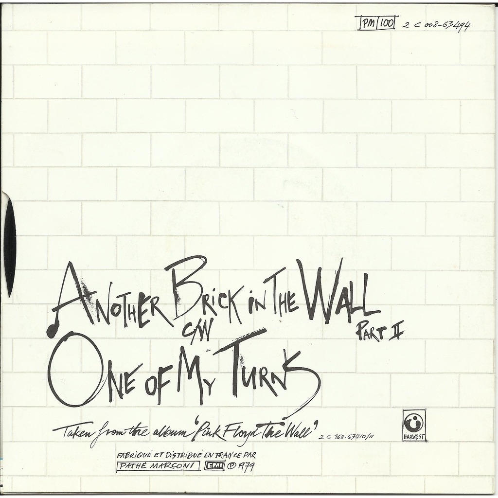 Another Brick In The Wall Part Ii One Of My Turns Juke