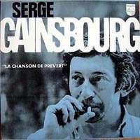 GAINSBOURG SERGE La Chanson De Prevert