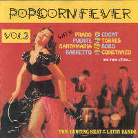 LATINO POPCORN FEVER - Vol 3 - CD