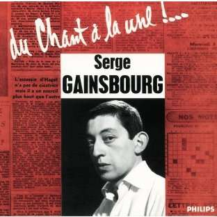 gainsbourg serge du chant à la une ! / volume 1 (original 1958)