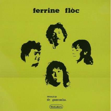 FERRINE FLOC musica de gasconha  (lp + free cd copy)