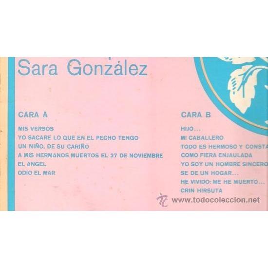SARA GONZALEZ versos josé marti