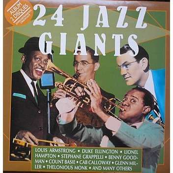 24 Jazz Giants By V A Compilation Lp X 2 With Jms33t