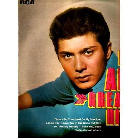PAUL ANKA GREATEST HITS.France
