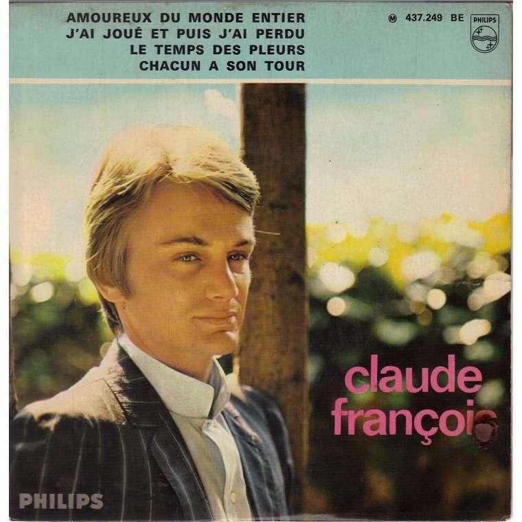 CLAUDE FRANCOIS AMOUREUX DU MONDE ENTIER.France