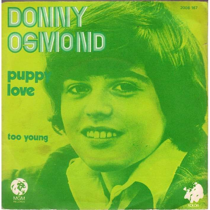 Donny Osmond - Too Young - Love Me