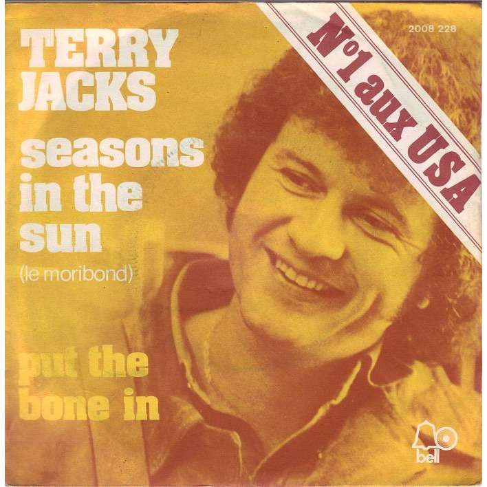 TERRY JACKS seasons in the sun/put the bone in.france, 7INCH (SP) for ...