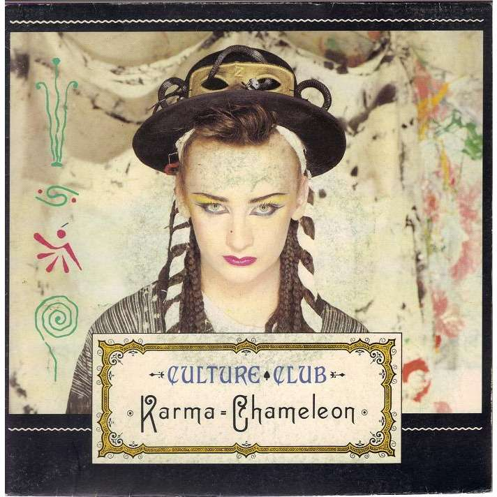 CULTURE CLUB KARMA CHAMELEON/THAT'S  THE WAY.France