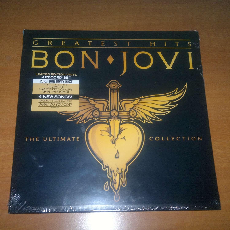 Greatest Hits By Bon Jovi Lp X 4 With Jovijano Ref