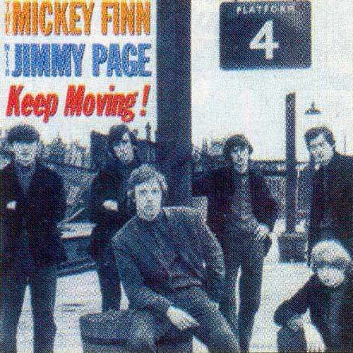 MICKEY FINN WITH JIMMY PAGE   KEEP MOVING ! CD - JUKEBOXMAG.COM