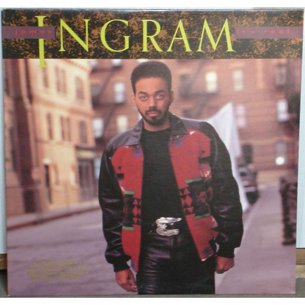 james ingram It's real (promo)