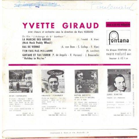 Giraud Yvette / Vian Boris La marche des gosses