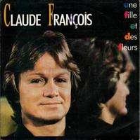 Francois Claude une fille et des fleurs