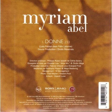 Abel Myriam Donne
