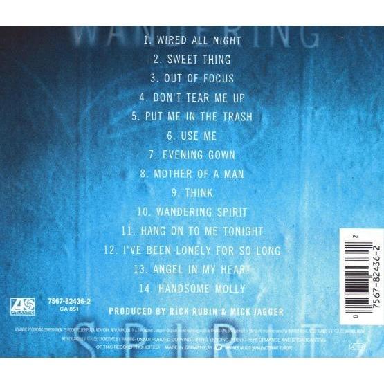 Wandering spirit by Jagger Mick, CD with kawa84 - Ref:113947636