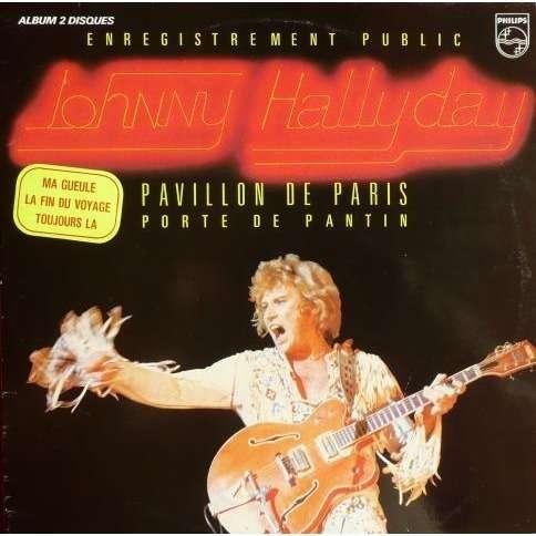 Hallyday Johnny Pavillon de Paris
