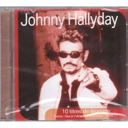 Hallyday Johnny 10 titres de légende