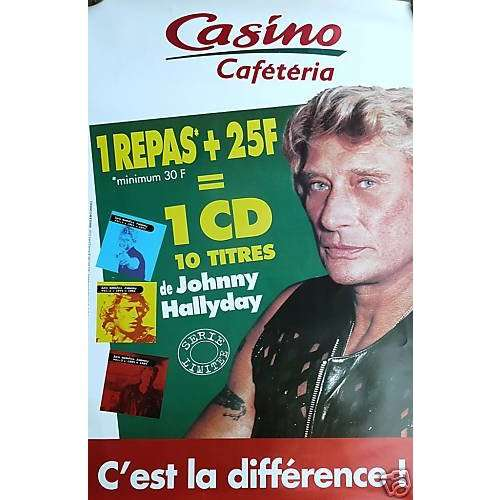 Hallyday Johnny Géant Casino