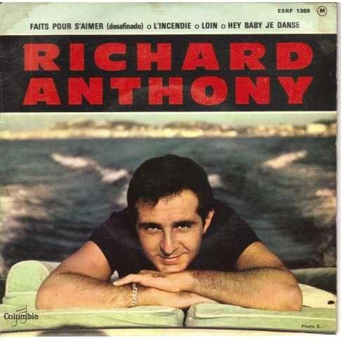 Anthony Richard - Faits pour s'aimer - 45T EP 4 titres