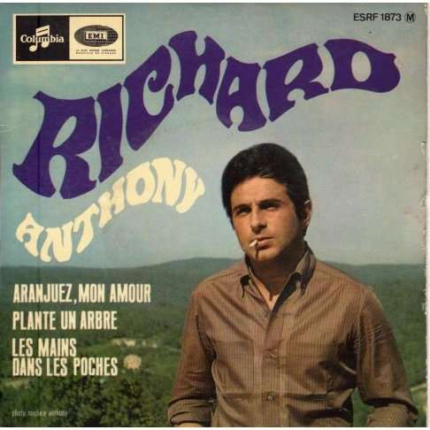 Anthony Richard - Aranjuez mon amour - 45T EP 4 titres