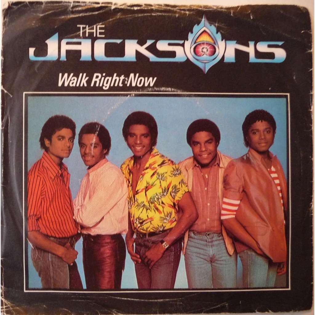 Jacksons Walk Right Now Your Ways