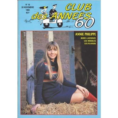 Annie Philippe Club des années 60 n° 16