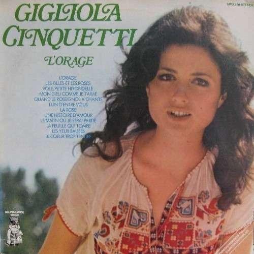 Resultado de imagen para Gigliola Cinquetti - L'Orage