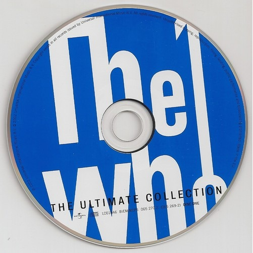 The Ultimate Collection By The Who, CD X 2 With Kroun2