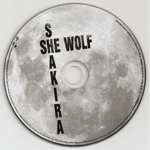 She Wolf By Shakira Cd With Kroun2