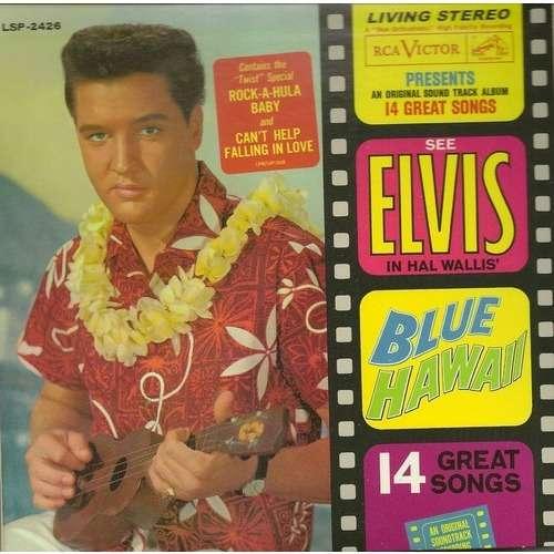 elvis presley Blue Hawai