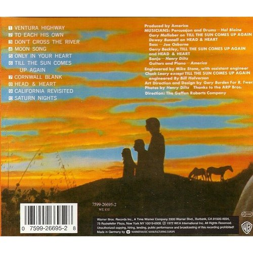 Homecoming By America Cd With Kroun2 Ref 114817197