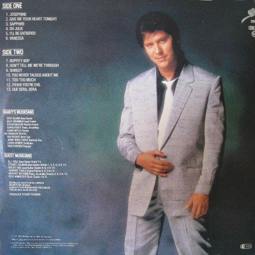 Give Me Your Heart Tonight By Shakin Stevens Lp With