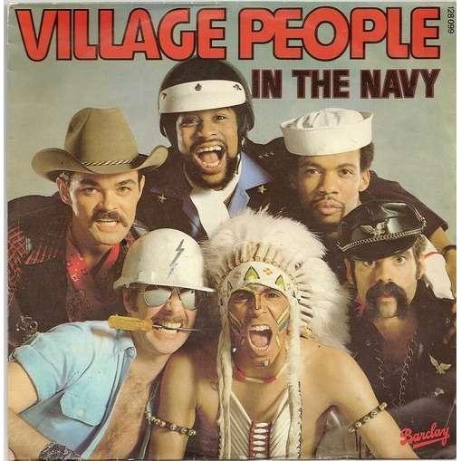 In The Navy Manhattan Woman De Village People Sp Chez