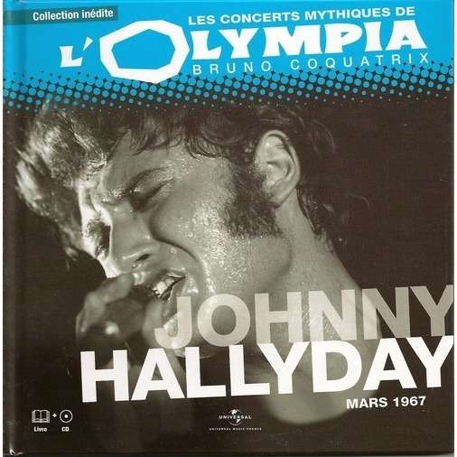 johnny hallyday Les concerts mythiques de l'olympia mars 1967