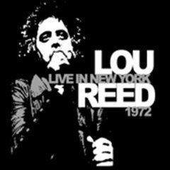 Lou reed Live In New York 1972 ( lp )