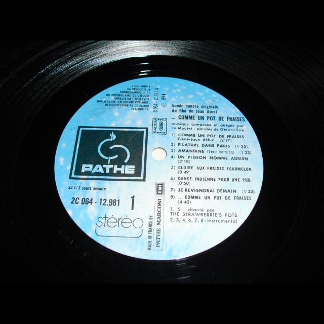 Incroyable Comme Un Pot De Fraises #11: Comme Un Pot De Fraises ( LP ); Video