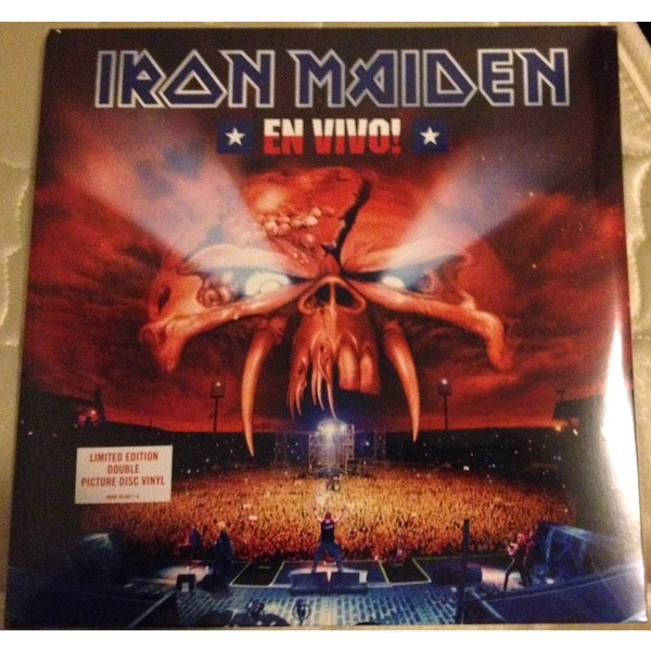 Iron Maiden en vivo! ( 2 lp )