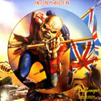 iron maiden the trooper ( 12 inch picture disk )