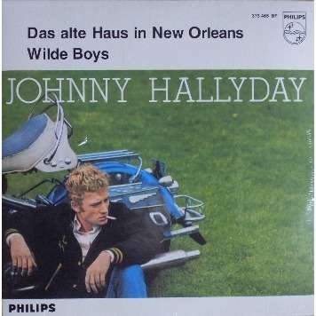 johnny hallyday das alte haus in new orleans cd single for sale on. Black Bedroom Furniture Sets. Home Design Ideas