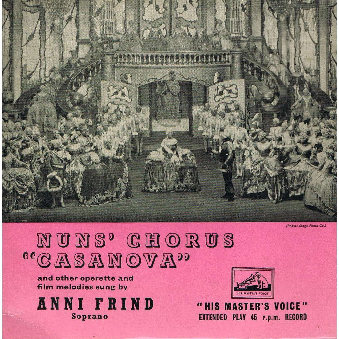 anni frind nun's chorus casanova