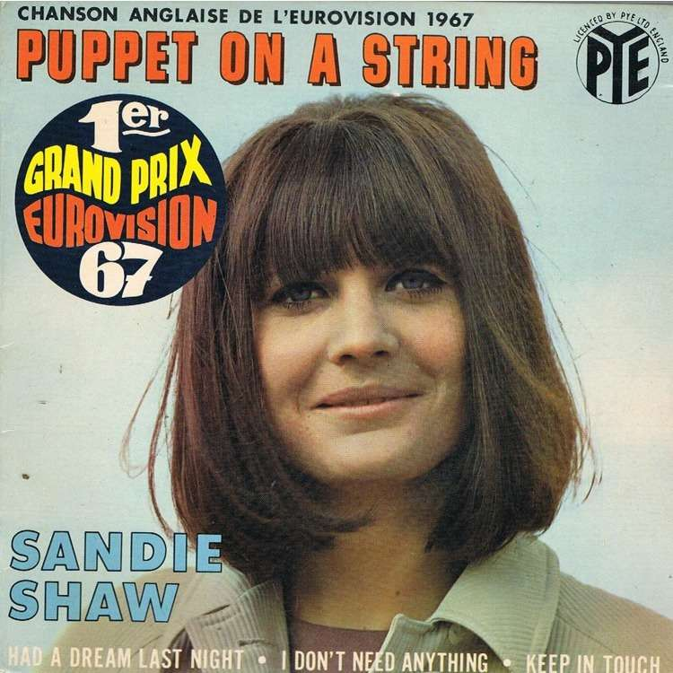 Puppet On A String By Sandie Shaw Ep With Lerayonvert