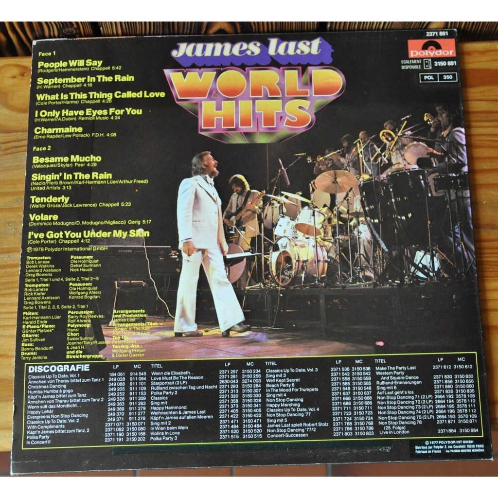 james last World Hits - Disco