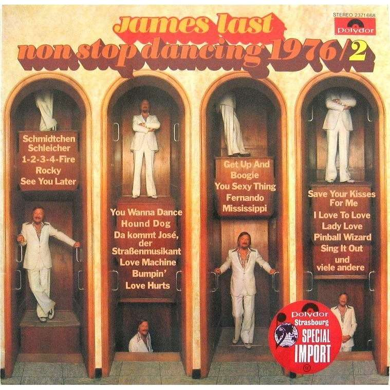 James Last Non stop dancing 1976/2