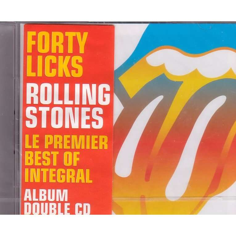 Forty Licks By Rolling Stones Cd X 2 With Libertemusic
