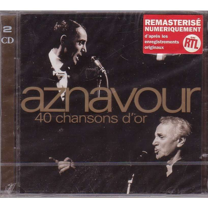 aznavour charles 40 chanson d'or