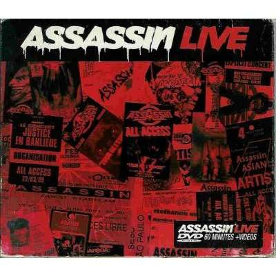 assassin live cd +dvd (edition limitée