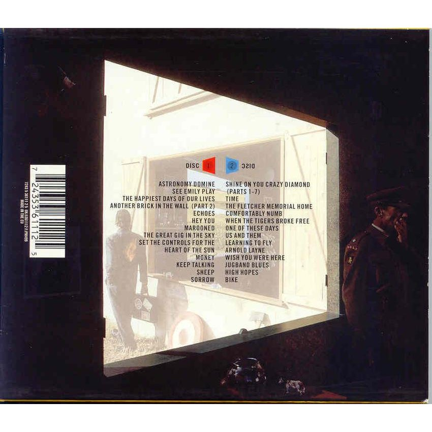 Echoes (the best of) by Pink Floyd, CD x 2 with libertemusic